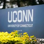 UConn University of Connecticut Signage