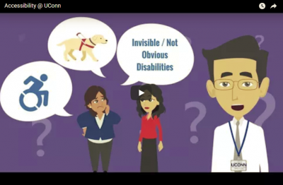 Accessibility at UConn Video